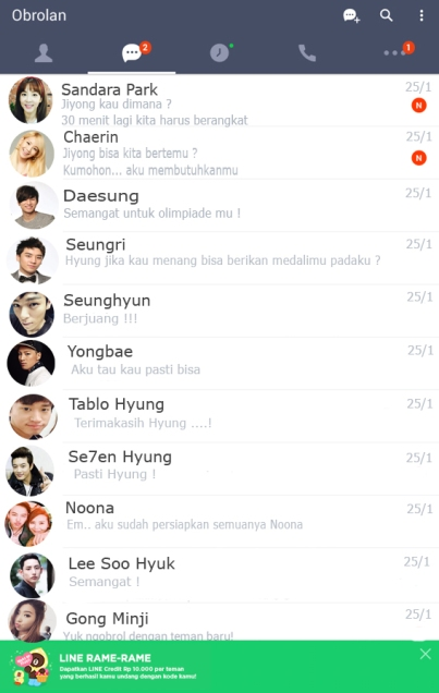 Omega chat